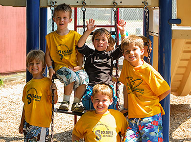 sesame boys playground